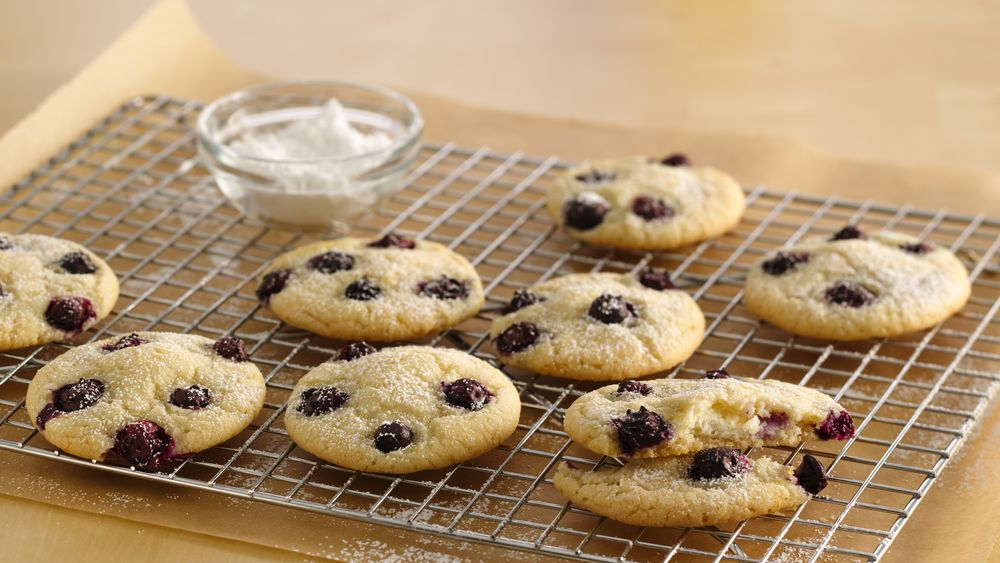 Lemon-Blueberry Cheesecake Cookies