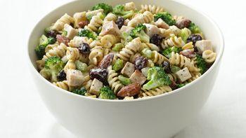 Skinny Turkey-Pasta Salad