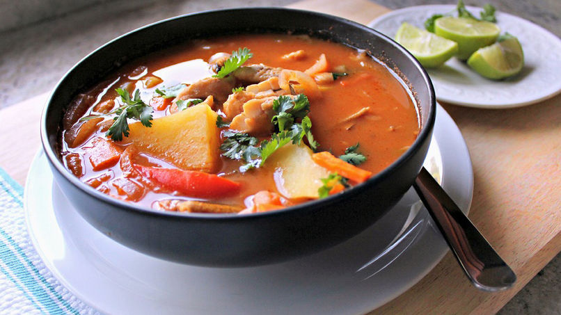 Chilean Congrio Fish Soup