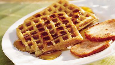 Golden Harvest Waffles