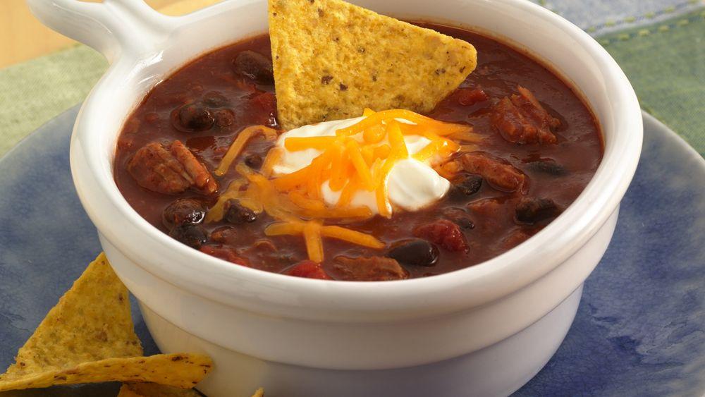 Barbecue Black Bean Chili