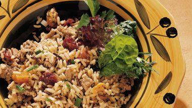 Fruity Chicken Rice Pilaf