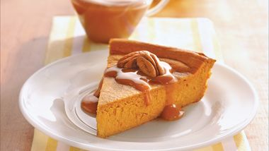 Impossibly Easy Pumpkin Cheesecake