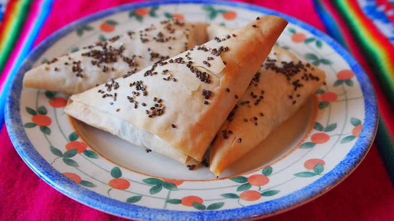 Empanadas de Puerro y Berzas