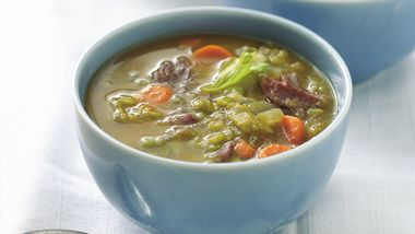 Healthy Slow-Cooker Split Pea Soup