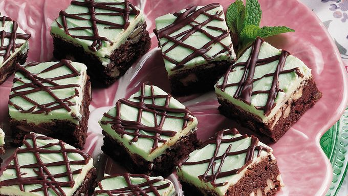 Mint-Chocolate Brownies