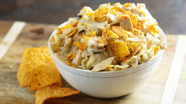Chicken-Taco-Ranch Pasta Salad