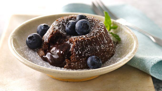 Chocolate Hazelnut Lava Cakes