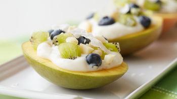 Mango Breakfast Boats