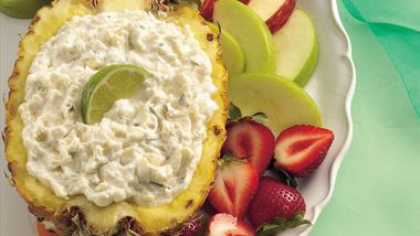 Pineapple-Lime Fruit Dip