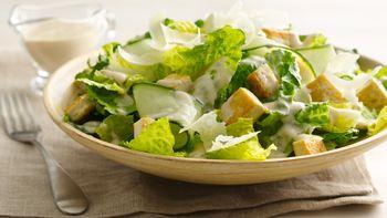 Gluten-Free Tofu Caesar Salads