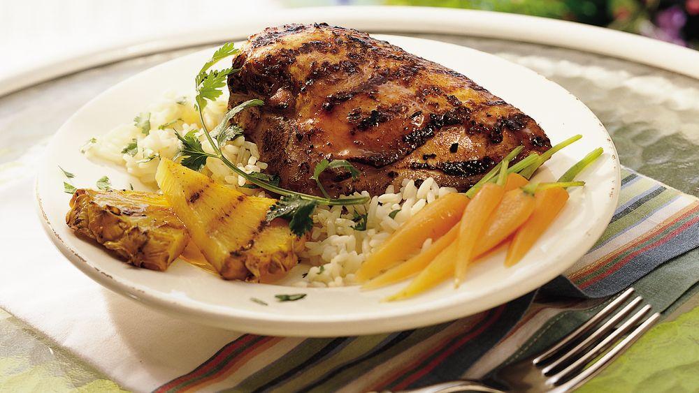 Grilled Teriyaki Chicken