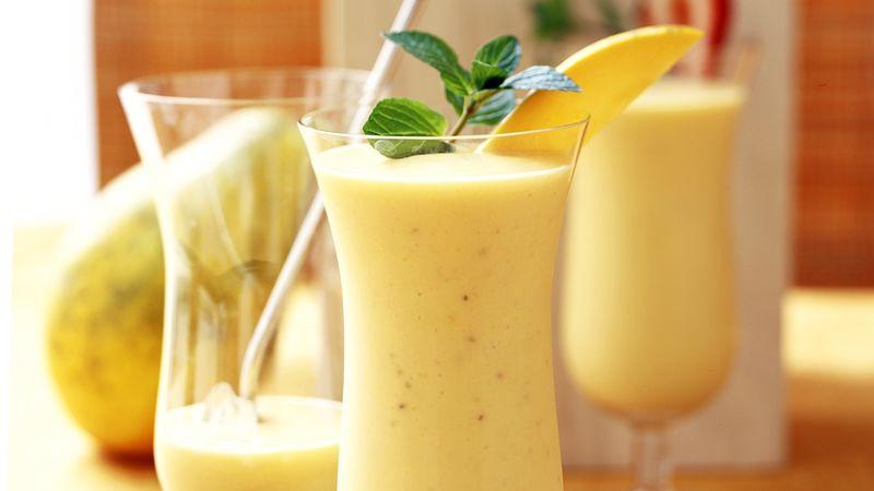Skinny Tropical Papaya Smoothie