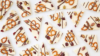 Easy Christmas Party Bark