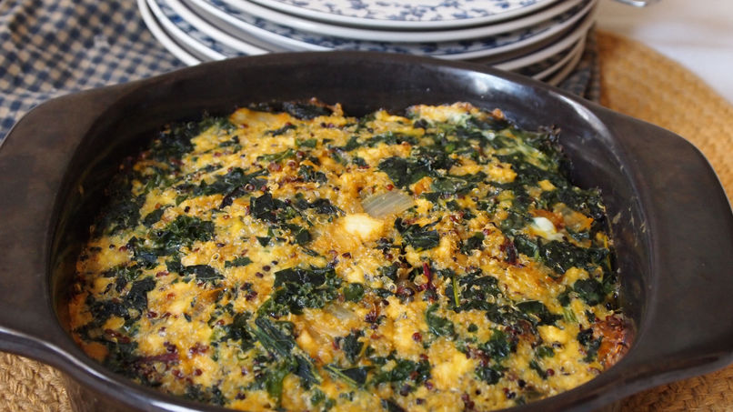 Quinoa and Chard Pie