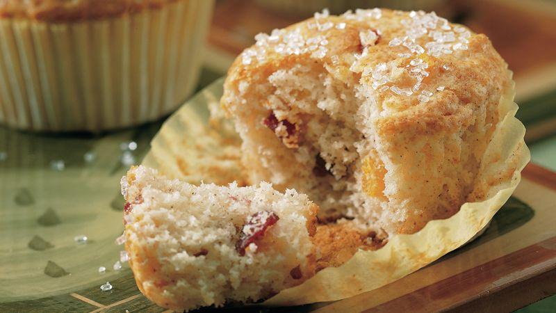 Apricot-Cranberry Muffins