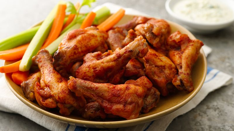 Baked Chicken Wings Recipe From Betty Crocker