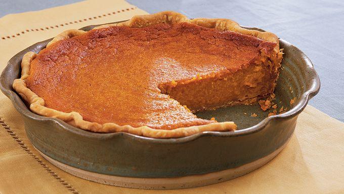 Roasted Sweet Potato Pie