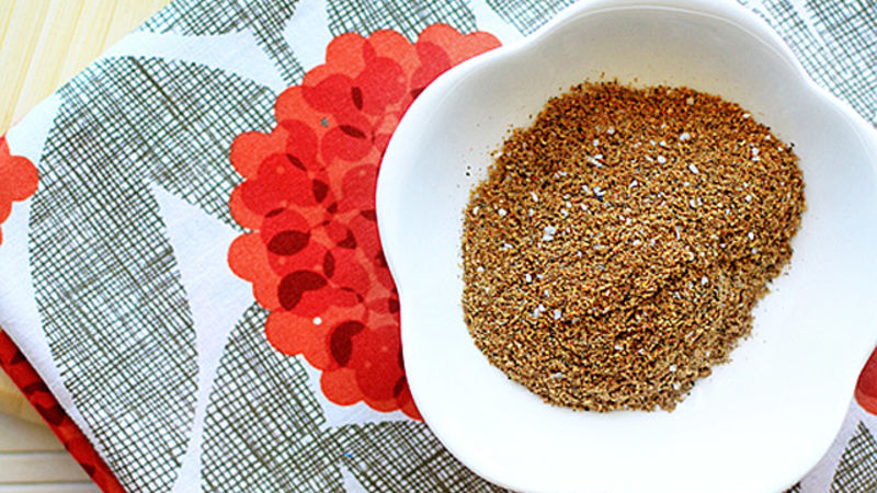 Indian Spice Rub for Salmon