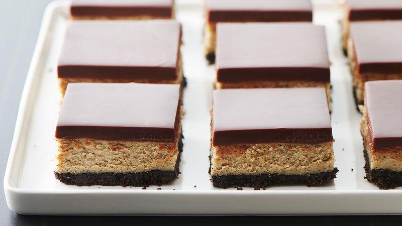 Mudslide Cheesecake Bars