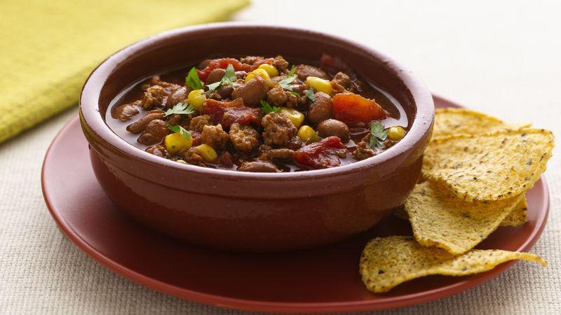 Bean and Turkey Chili