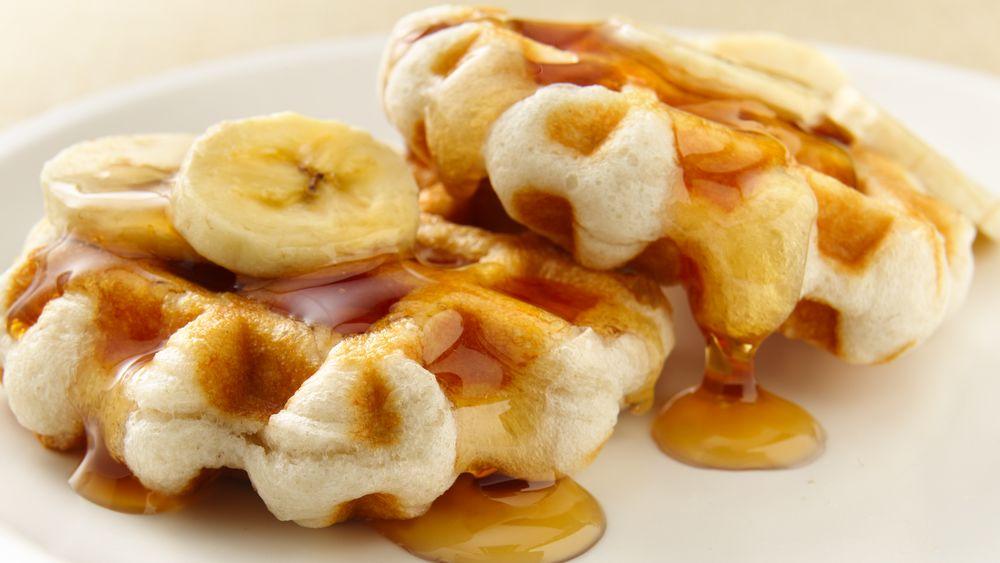 Mini Biscuit Waffles