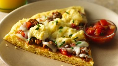 Gluten-Free Huevos Rancheros Breakfast Pizza
