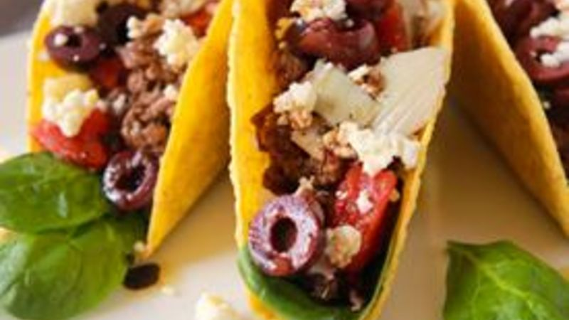 Greek Meets Mex Tacos