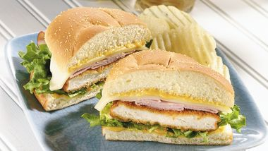 Cordon Bleu Sandwiches
