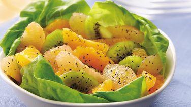 Citrus Salad with Poppy Seed-Honey Dressing
