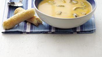 Squash and Mushroom Soup