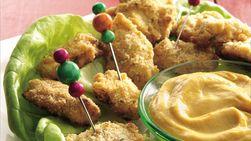 Trocitos de Pollo con Mostaza de Miel