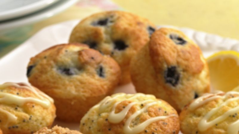 Wild Blueberry Mini-Muffins