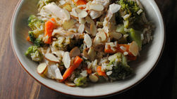 Brown Rice Turkey Salad