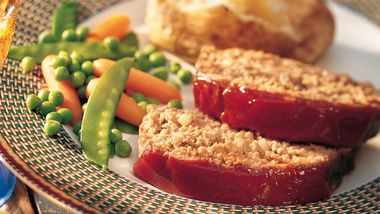 Savory Meatloaf (lighter recipe)