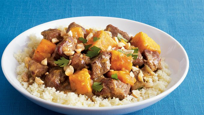 Curried Lamb-Sweet Potato Stew