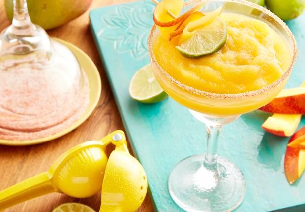 frozen mango margaritas