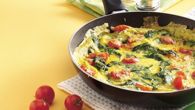Spinach-Tomato Frittata