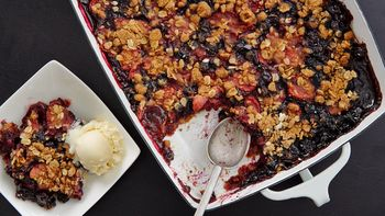 Summer Berry Crisp