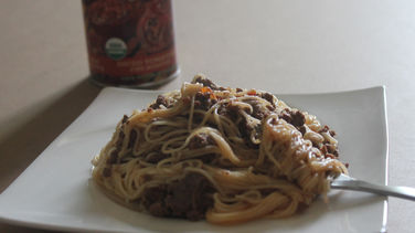 Whole Grain Spaghetti with Beef