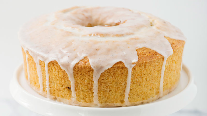 Orange Vanilla Yogurt Pound Cake