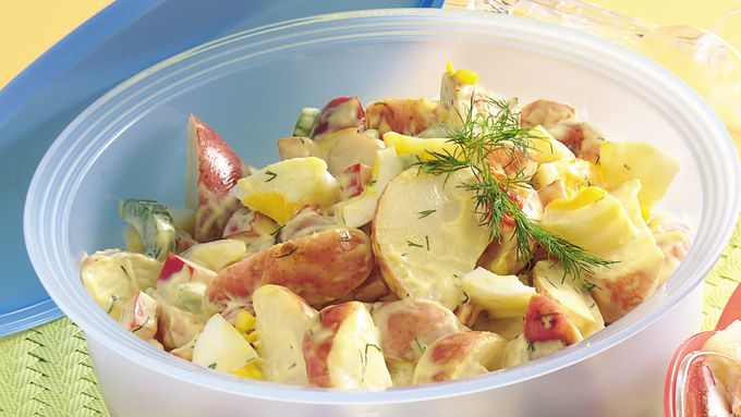 how to cook potato salad easy