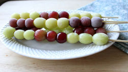 Frozen Grape Poppers