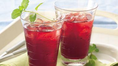 Cranberry-Mint Iced Tea