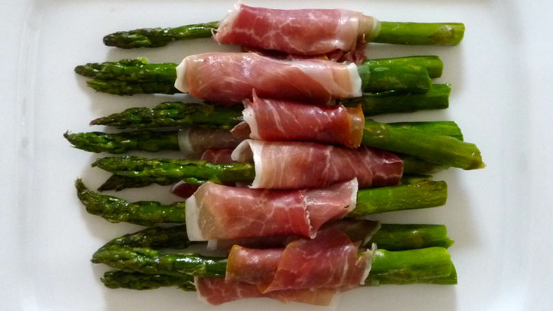 Roasted Asparagus 3 Ways