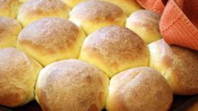 Brown-Buttered Sweet Potato Buttermilk Rolls