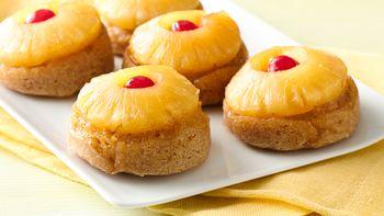 Gluten-Free Mini Pineapple Upside Down Cakes