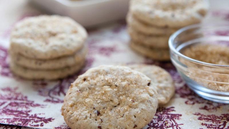 Sparkling Hazelnut Cookies