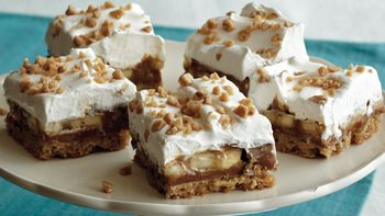 Banana-Toffee Bars