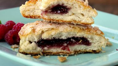 Jam-Stuffed Biscuits